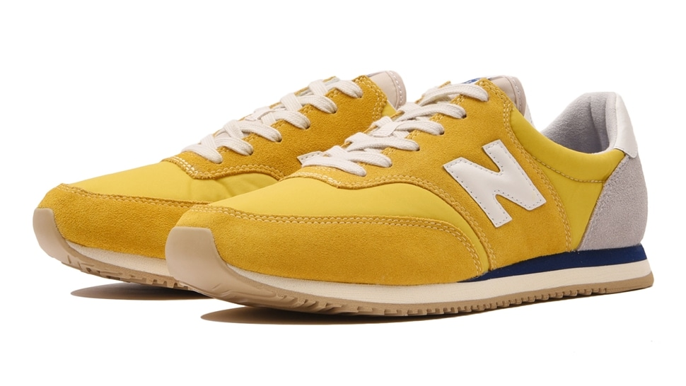 (NB公式アウトレット)【40%OFF】 メンズ MLC100 BQ (イエロー) スニーカー シューズ 靴 ニューバランス newbalance セール