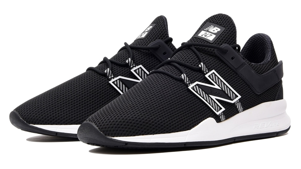 (NB公式アウトレット)【50%OFF】 ユニセックス MS247D EA (ブラック) スニーカー シューズ 靴 ニューバランス newbalance セール