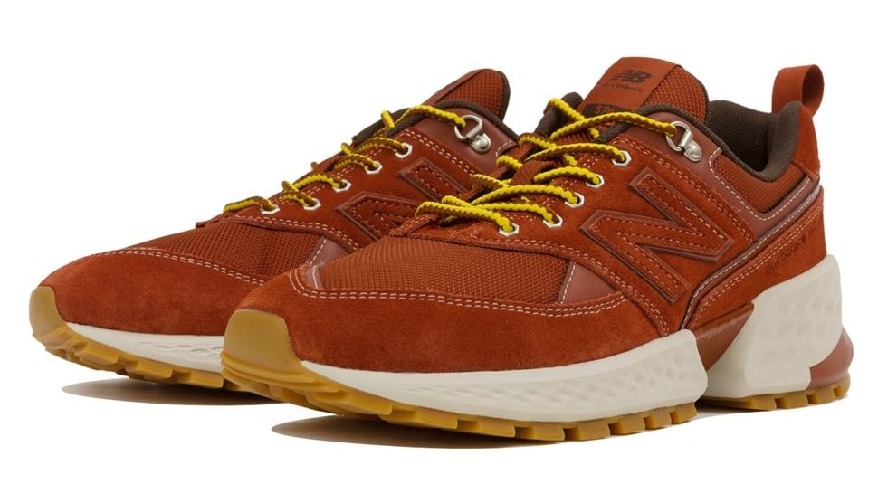 (NB公式アウトレット)【50%OFF】 メンズ MS574A RD (レッド) スニーカー シューズ 靴 ニューバランス newbalance セール