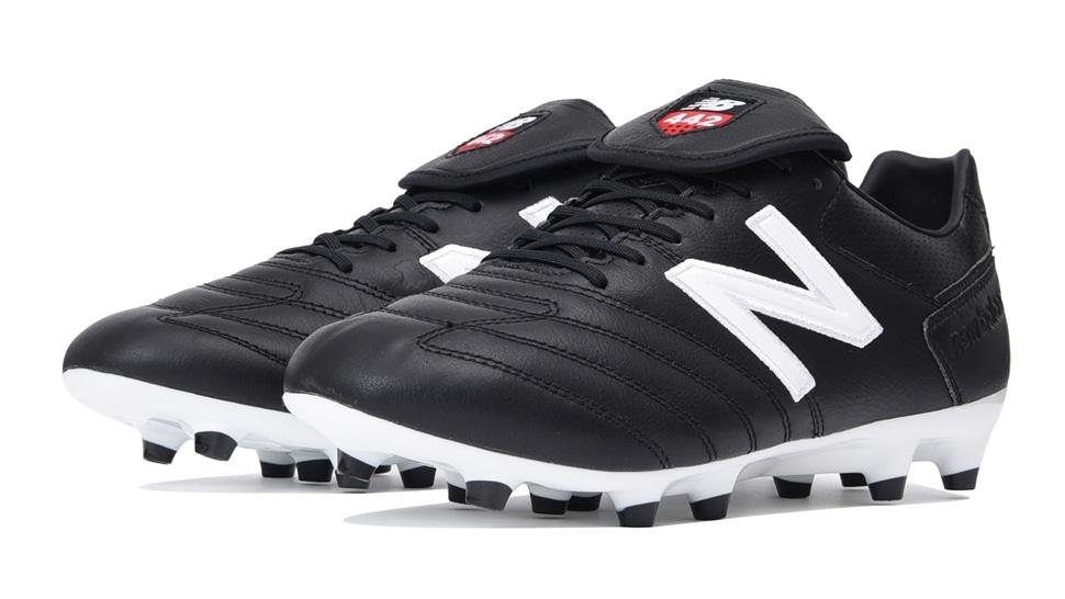 (NB公式アウトレット)【50%OFF】 メンズ 442 PRO FG BW1 (ブラック) サッカーシューズ スパイク 靴 ニューバランス newbalance セール