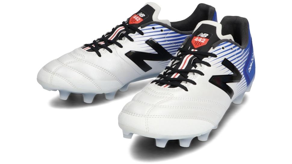 (NB公式アウトレット)【30%OFF】 ユニセックス 442 SP HG CO1 (ホワイト) サッカーシューズ スパイク 靴 ニューバランス newbalance セール