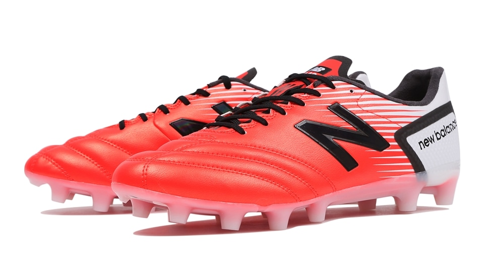 (NB公式アウトレット)【50%OFF】 ユニセックス 442 SP HG FW1 (FLAME/BLACK) サッカーシューズ スパイク 靴 ニューバランス newbalance セール