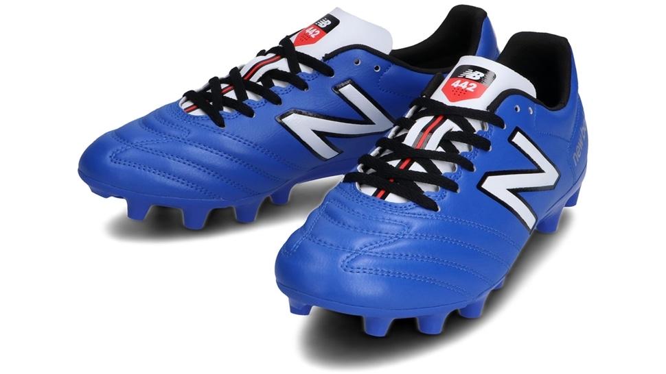 (NB公式アウトレット)【30%OFF】 メンズ 442 ACADEMY HG CO1 (ブルー) サッカーシューズ スパイク 靴 ニューバランス newbalance セール