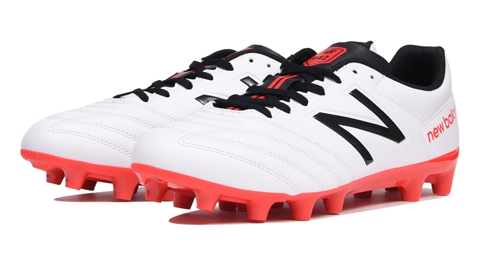 (NB公式アウトレット)【59%OFF】 ユニセックス 442 TEAM HG RW1 (ホワイト) サッカーシューズ スパイク 靴 ニューバランス newbalance セール