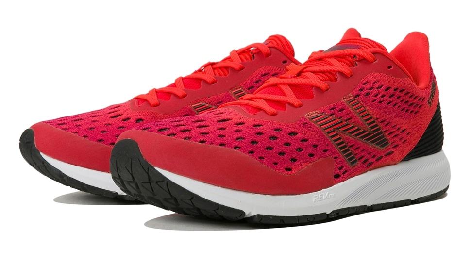 (NB公式アウトレット)【50%OFF】 メンズ STROBE M RB4 (レッド) ランニングシューズ 靴 ニューバランス newbalance セール