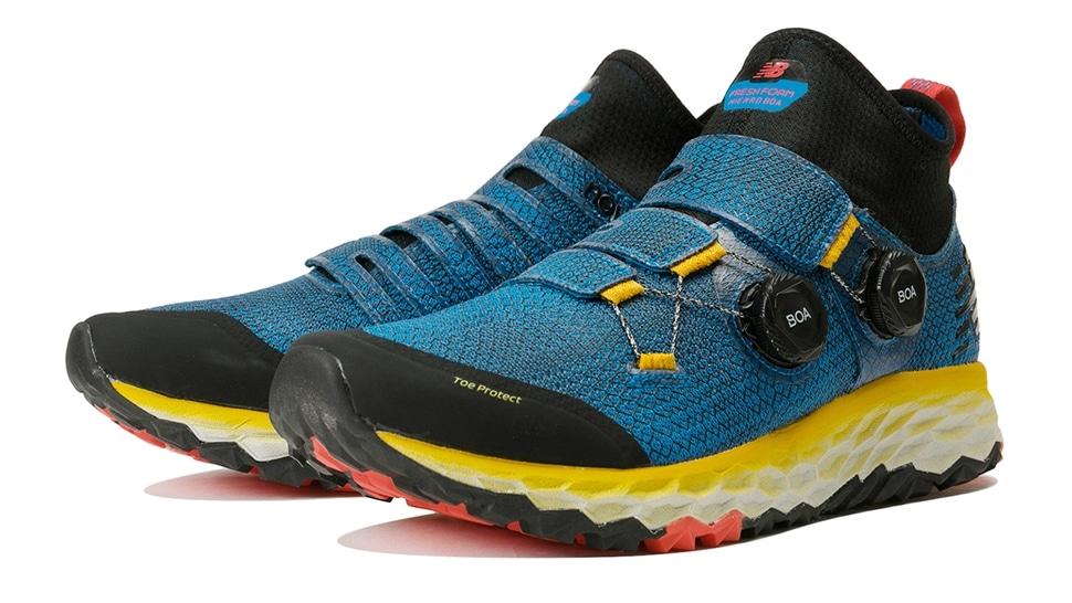 (NB公式アウトレット)【50%OFF】 メンズ FRESH FOAM HIERRO M BY (ブルー) ランニングシューズ 靴 ニューバランス newbalance セール