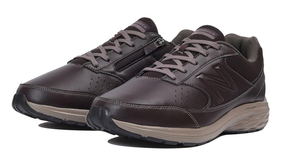 (NB公式アウトレット)【40%OFF】 メンズ MW363 BR5 (ブラウン) ウォーキングシューズ 靴 ニューバランス newbalance セール