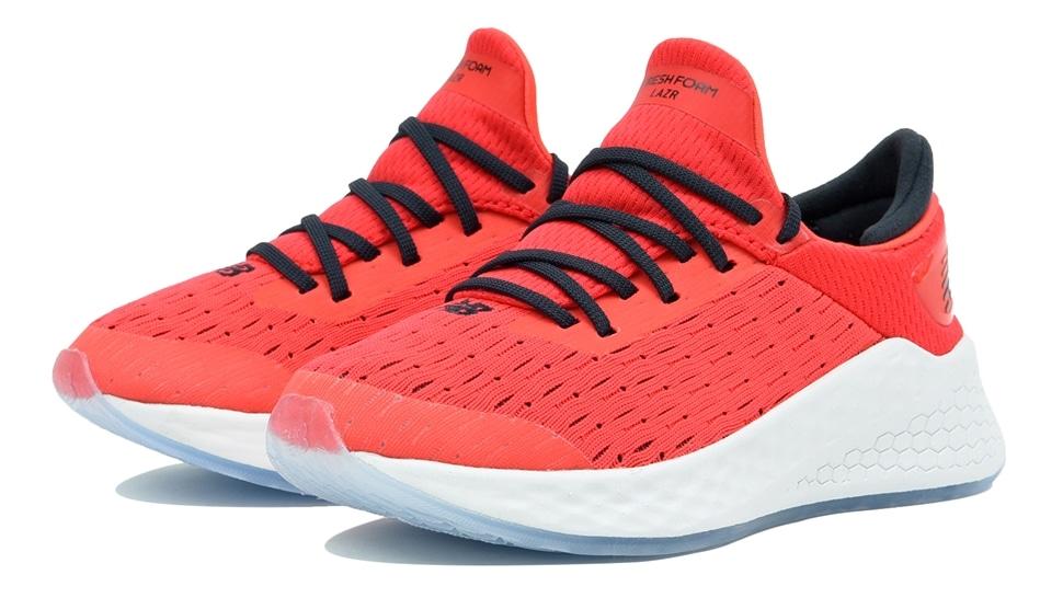 (NB公式アウトレット)【60%OFF】 キッズ FRESH FOAM LAZR PRE LD (レッド) ランニングシューズ 靴 ニューバランス newbalance セール