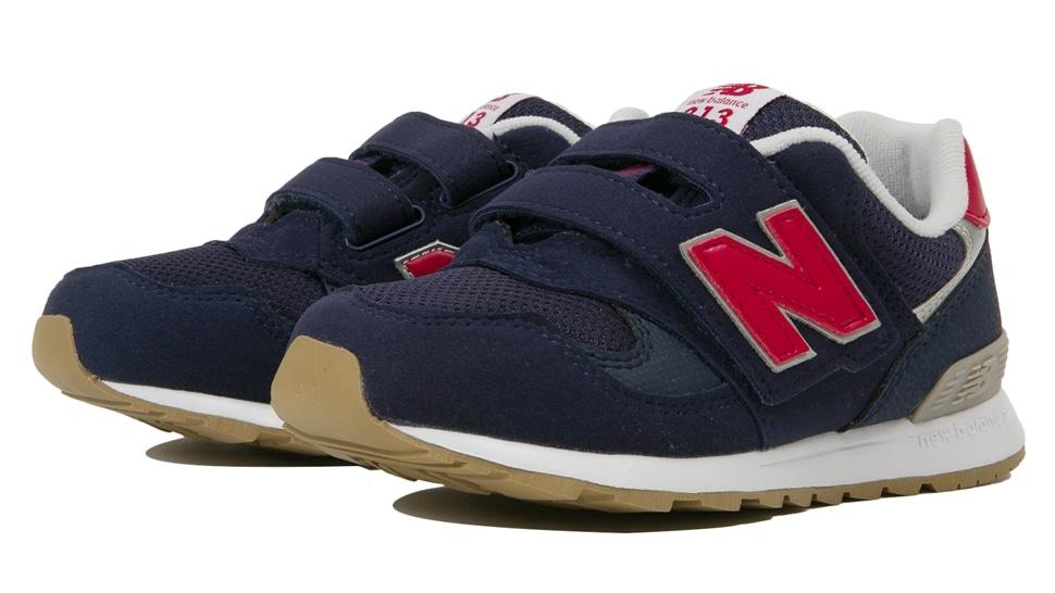 (NB公式アウトレット)【30%OFF】 キッズ PO313 NV (ブルー) スニーカー シューズ 靴 ニューバランス newbalance セール