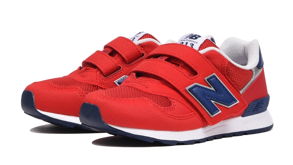 (NB公式アウトレット)【30%OFF】 キッズ PO313 RN (レッド) スニーカー シューズ 靴 ニューバランス newbalance セール