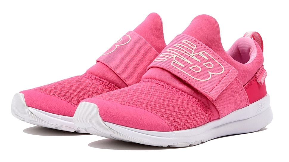 (NB公式アウトレット)【50%OFF】 キッズ PREMUS SLIP ON PRE PN (ピンク) ランニングシューズ 靴 ニューバランス newbalance セール