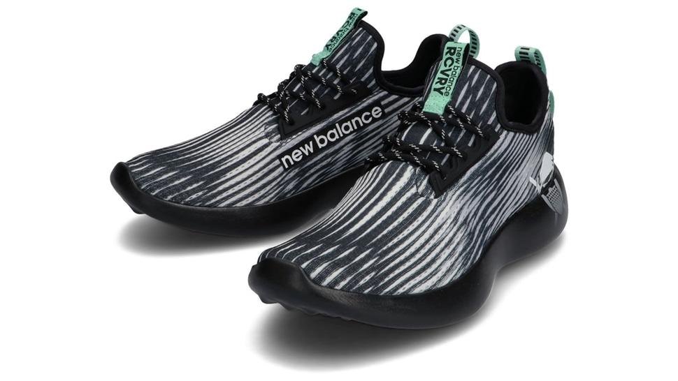 (NB公式アウトレット)【30%OFF】 ユニセックス RCVRY HB (ブラック) ウォーキングシューズ 靴 ニューバランス newbalance セール
