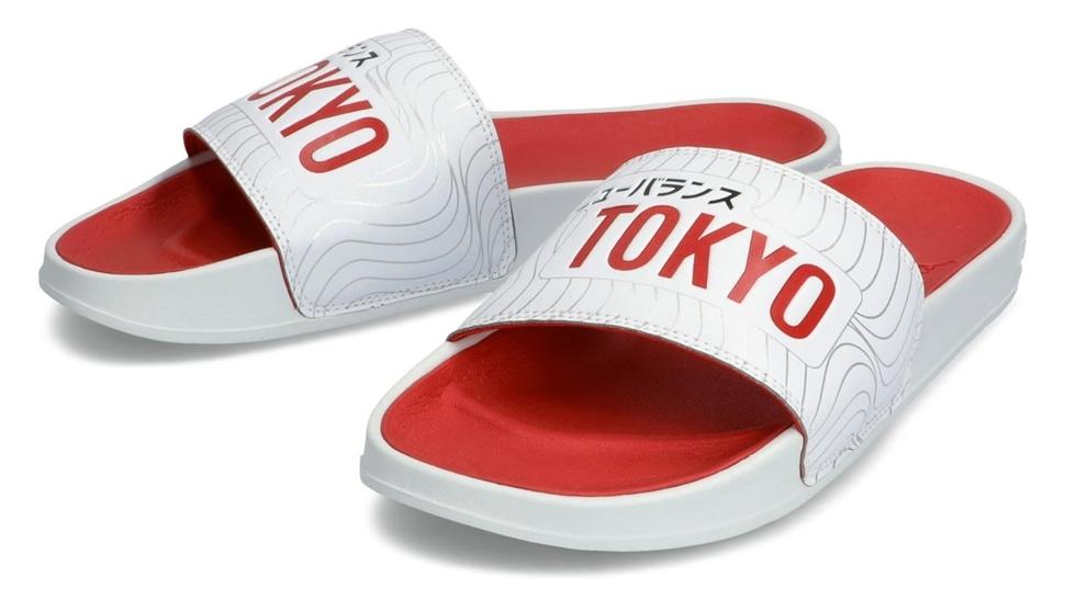 (NB公式アウトレット)【40%OFF】 メンズ 200 SLIDE TK (ホワイト) サンダル 靴 ニューバランス newbalance セール