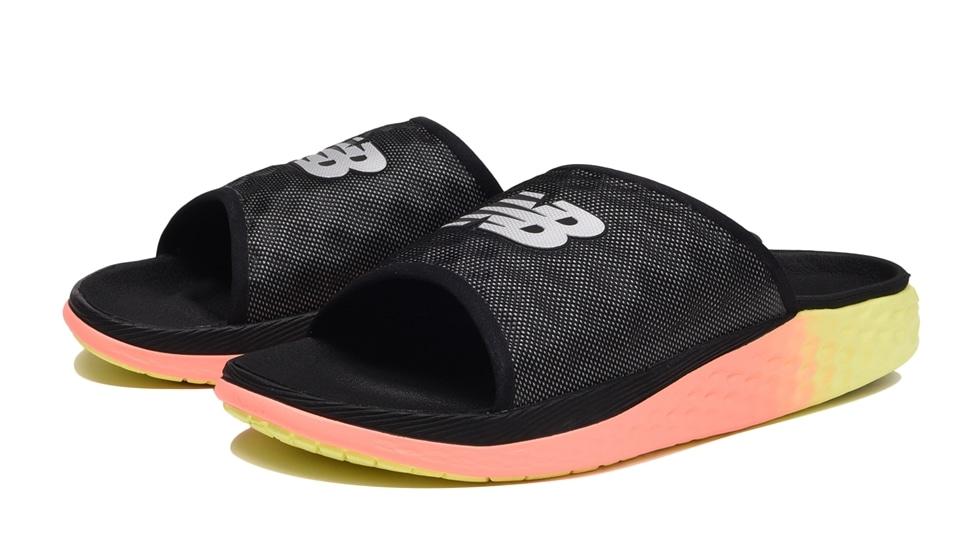 (NB公式アウトレット)【30%OFF】 メンズ HUPO'O HA (ブラック) サンダル 靴 ニューバランス newbalance セール