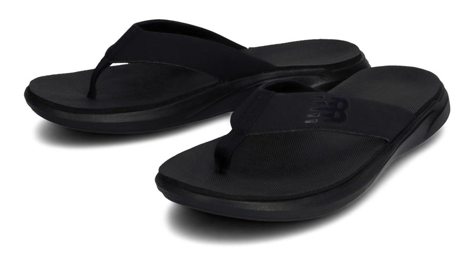 (NB公式アウトレット)【30%OFF】 メンズ 340 TONG K1 (ブラック) サンダル 靴 ニューバランス newbalance セール