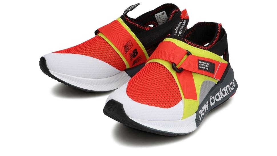 (NB公式アウトレット)【30%OFF】 ウイメンズ Fuel Cell Sandal 1.0 W (レッド) サンダル 靴 ニューバランス newbalance セール