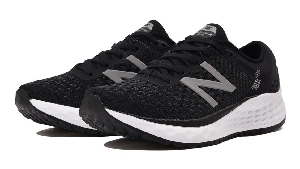 (NB公式アウトレット)【60%OFF】 ウイメンズ FRESH FOAM 1080 W BK9 (ブラック) ランニングシューズ 靴 ニューバランス newbalance セール