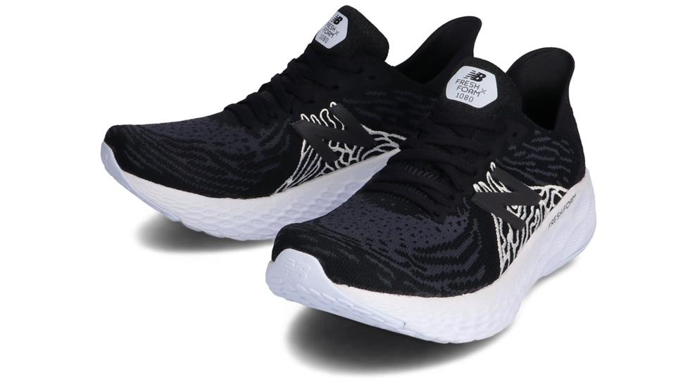 (NB公式アウトレット)【50%OFF】 ウイメンズ FRESH FOAM 1080 W K10 (ブラック) ランニングシューズ 靴 ニューバランス newbalance セール