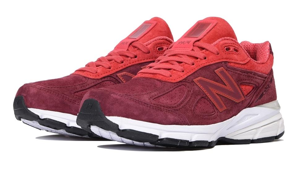 (NB公式アウトレット)【60%OFF】 ウイメンズ W990 VT4 (レッド) スニーカー シューズ(Made in USA/UK) 靴 ニューバランス newbalance セール