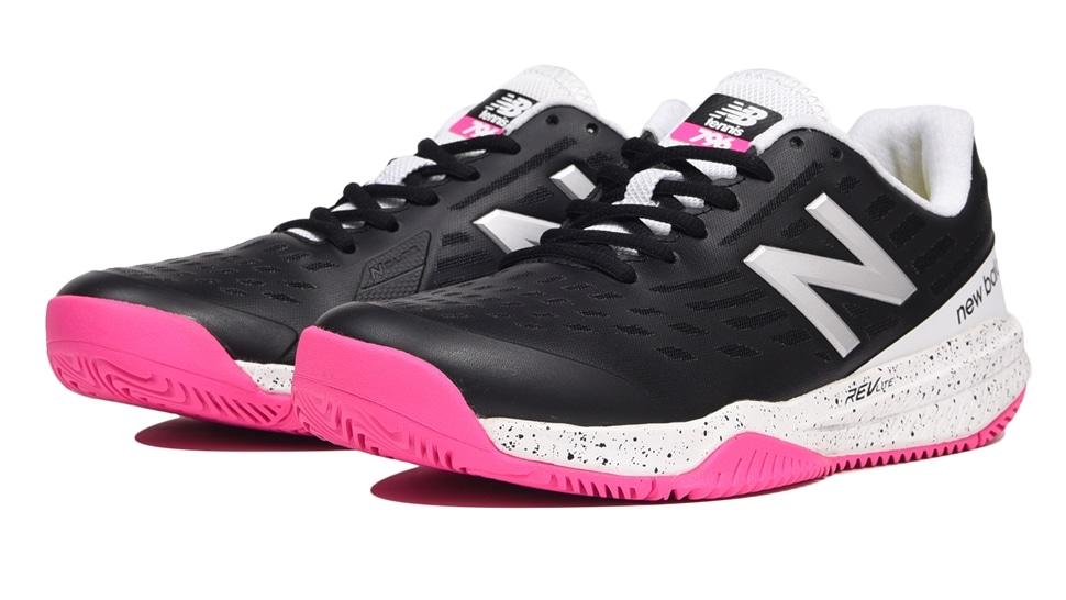 (NB公式アウトレット)【59%OFF】 ウイメンズ WCH796 B1 (ブラック) テニス オールコート用シューズ 靴 ニューバランス newbalance セール