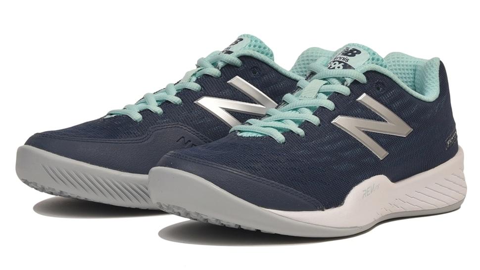 (NB公式アウトレット)【60%OFF】 ウイメンズ WCO896 V2 (ブルー) テニス オムニ・クレーコート用シューズ 靴 ニューバランス newbalance セール