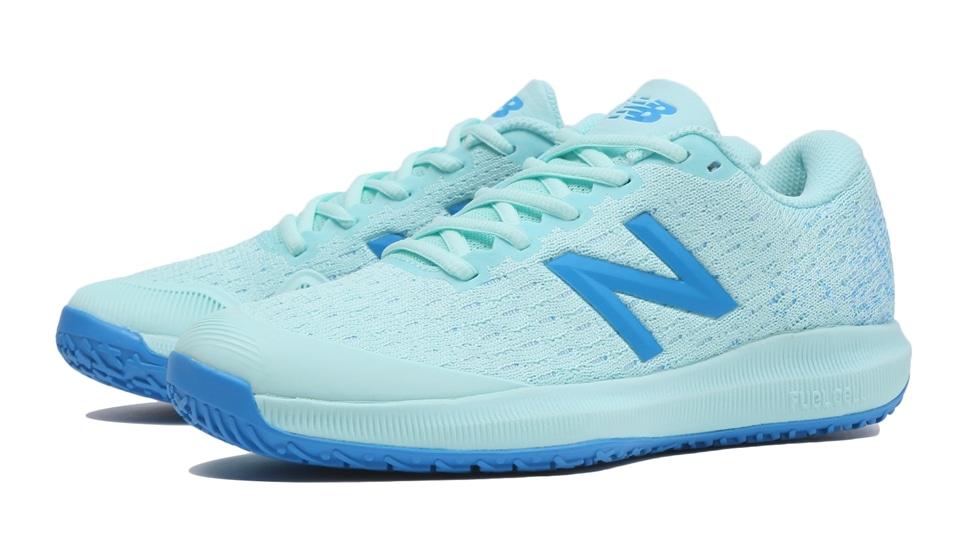 (NB公式アウトレット)【30%OFF】 ウイメンズ FuelCell 996 O G4 (ブルー) テニス オムニ・クレーコート用シューズ 靴 ニューバランス newbalance セール