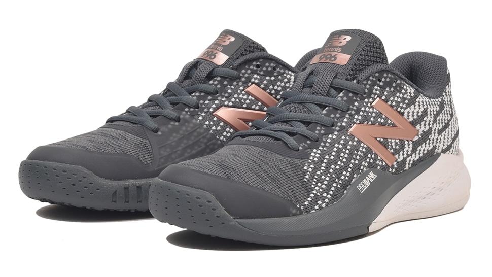 (NB公式アウトレット)【52%OFF】 ウイメンズ WCO996 J3 (グレー) テニス オムニ・クレーコート用シューズ 靴 ニューバランス newbalance セール