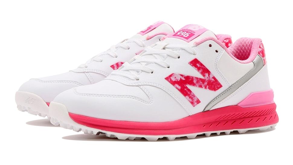 (NB公式アウトレット)【30%OFF】 ウイメンズ WGS996 P2 (ピンク) ゴルフ スパイクレス シューズ 靴 ニューバランス newbalance セール