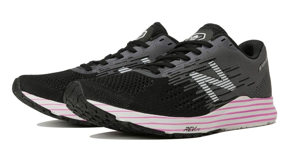 (NB公式アウトレット)【50%OFF】 ウイメンズ NB HANZO C W F2 (ブラック) ランニングシューズ 靴 ニューバランス newbalance セール