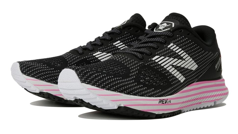 (NB公式アウトレット)【52%OFF】 ウイメンズ NB HANZO U W F2 (ブラック) ランニングシューズ 靴 ニューバランス newbalance セール