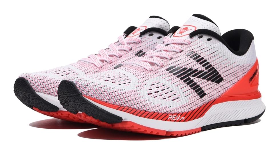 (NB公式アウトレット)【50%OFF】 ウイメンズ NB HANZO U W M2 (ホワイト) ランニングシューズ 靴 ニューバランス newbalance セール
