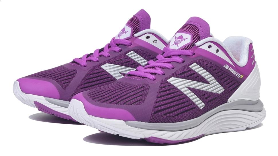 (NB公式アウトレット)【60%OFF】 ウイメンズ NB HANZO U W V1 (パープル) ランニングシューズ 靴 ニューバランス newbalance セール