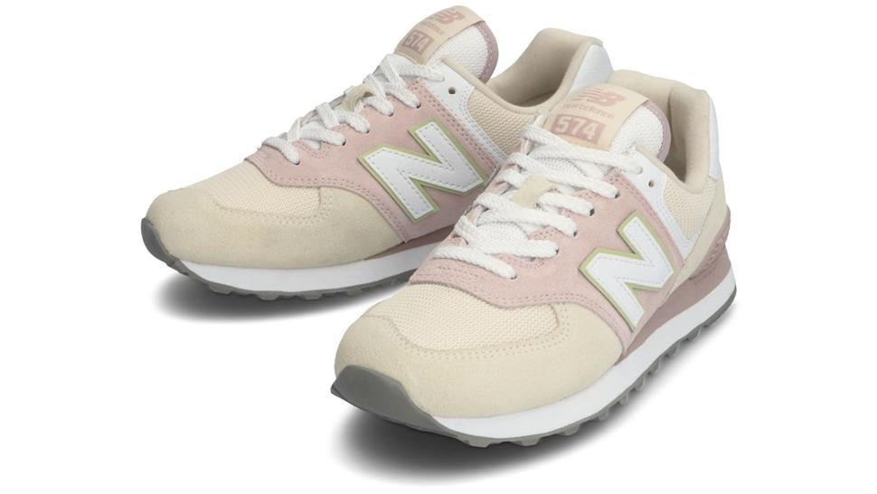 (NB公式アウトレット)【30%OFF】 ウイメンズ WL574 LBL (ホワイト) スニーカー シューズ 靴 ニューバランス newbalance セール