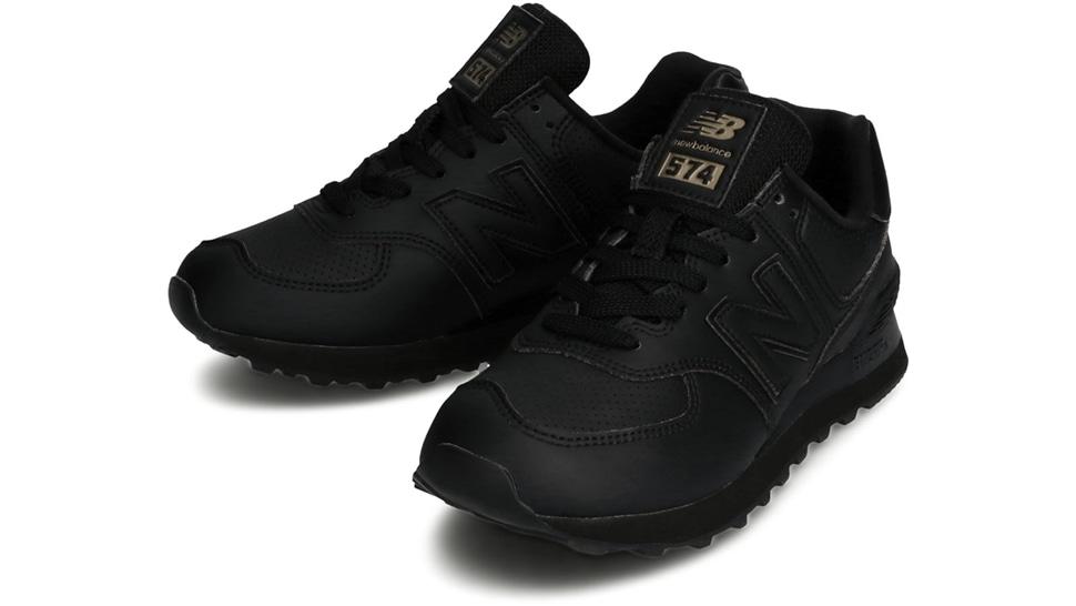 (NB公式アウトレット)【30%OFF】 ウイメンズ WL574 SYJ (ブラック) スニーカー シューズ 靴 ニューバランス newbalance セール