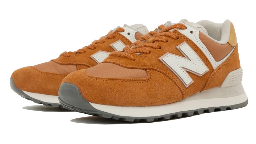 (NB公式アウトレット)【40%OFF】 ウイメンズ WL574 SYN (オレンジ) スニーカー シューズ 靴 ニューバランス newbalance セール
