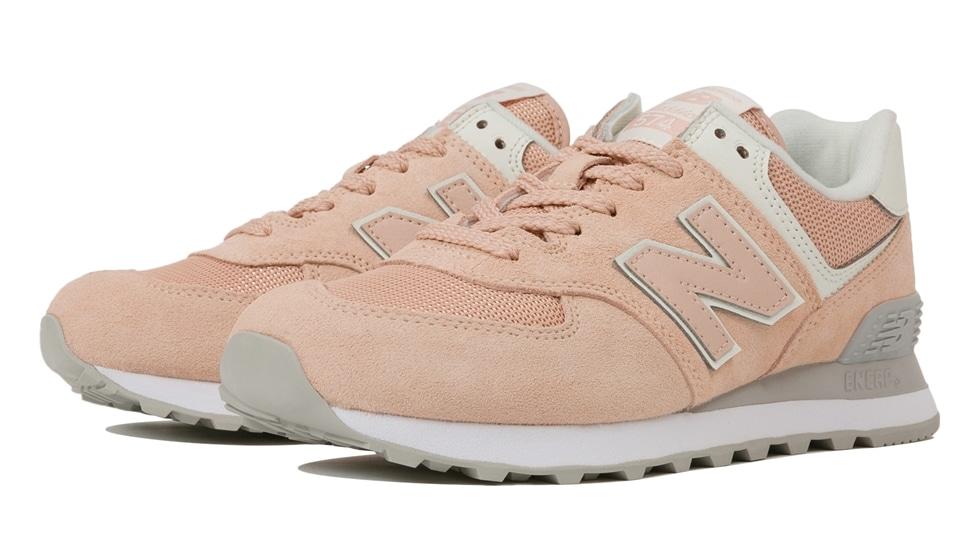 (NB公式アウトレット)【50%OFF】 ウイメンズ WL574 WED (ピンク) スニーカー シューズ 靴 ニューバランス newbalance セール