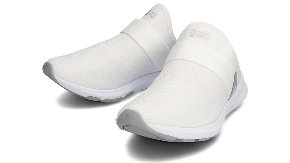 (NB公式アウトレット)【30%OFF】 ウイメンズ NB NERGIZE MULE W SW1 (ホワイト) トレーニングシューズ 靴 ニューバランス newbalance セール