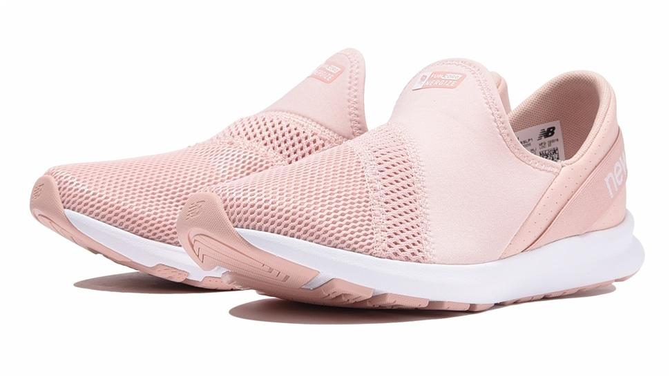 (NB公式アウトレット)【51%OFF】 ウイメンズ FUEL CORE NERGIZE EZ SLIP-ON W LP1 (ピンク) ウォーキングシューズ 靴 ニューバランス newbalance セール