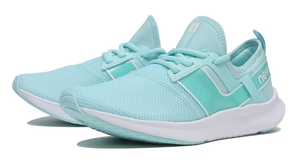 (NB公式アウトレット)【30%OFF】 ウイメンズ NB NERGIZE SPORT W TB1 (ブルー) トレーニングシューズ 靴 ニューバランス newbalance セール