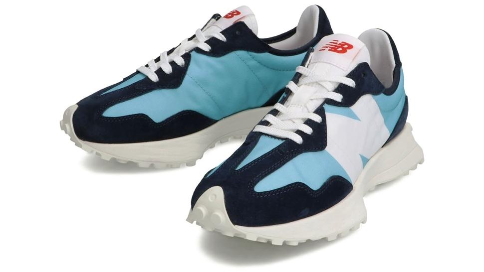 (NB公式アウトレット)【30%OFF】 ウイメンズ WS327 CPB (WAX BLUE) スニーカー シューズ 靴 ニューバランス newbalance セール