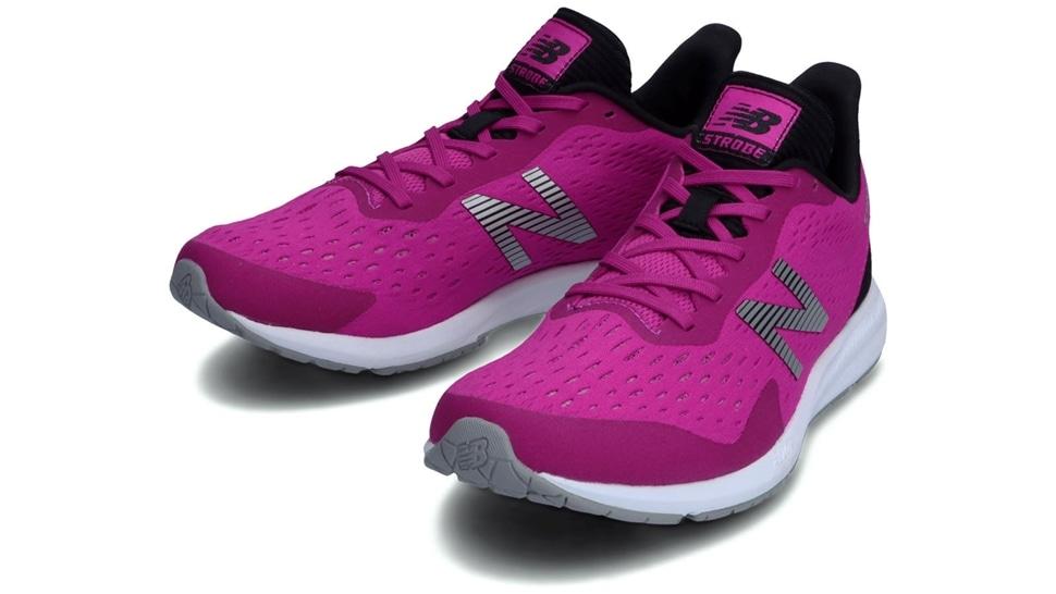 (NB公式アウトレット)【30%OFF】 ウイメンズ STROBE W PB4 (ピンク) ランニングシューズ 靴 ニューバランス newbalance セール