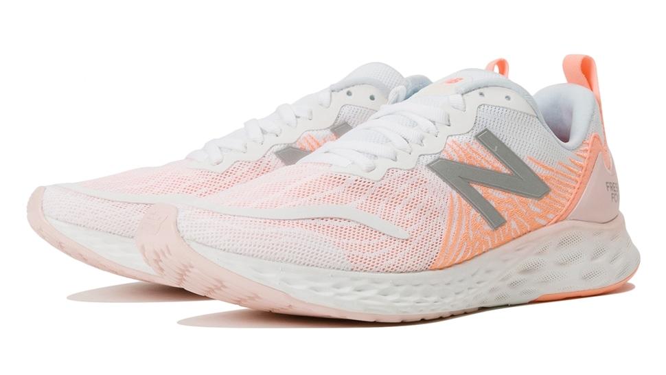 (NB公式アウトレット)【50%OFF】 ウイメンズ FRESH FOAM TEMPO W WP (ピンク) ランニングシューズ 靴 ニューバランス newbalance セール