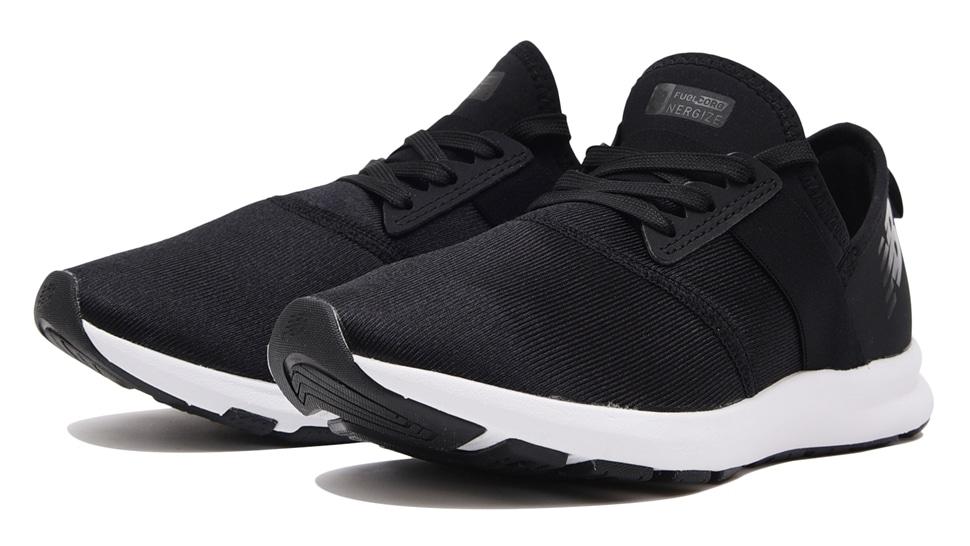 (NB公式アウトレット)【53%OFF】 ウイメンズ FUEL CORE NERGIZE W XB (ブラック) トレーニングシューズ 靴 ニューバランス newbalance セール
