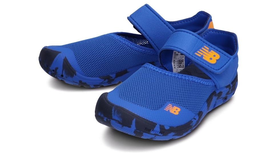 (NB公式アウトレット)【30%OFF】 キッズ YO208 RB2 (ブルー) スニーカー シューズ 靴 ニューバランス newbalance セール