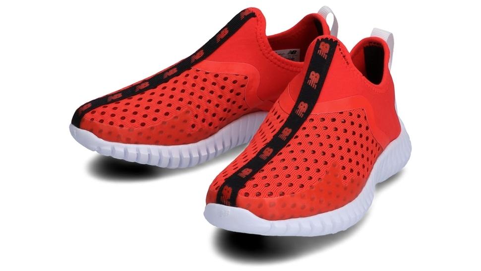 (NB公式アウトレット)【30%OFF】 キッズ AQUA DRIFT Y LF1 (レッド) ランニングシューズ 靴 ニューバランス newbalance セール