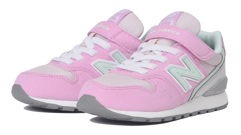 (NB公式アウトレット)【50%OFF】 キッズ YV996 PMT (ピンク) スニーカー シューズ 靴 ニューバランス newbalance セール
