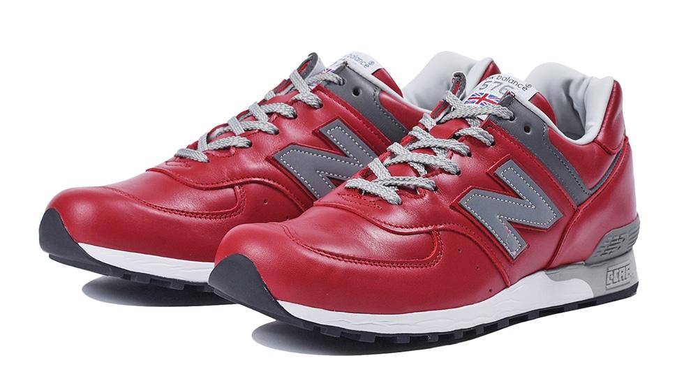 (NB公式アウトレット)【30%OFF】 メンズ M576 RED (レッド) スニーカー シューズ(Made in USA/UK) 靴 ニューバランス newbalance セール
